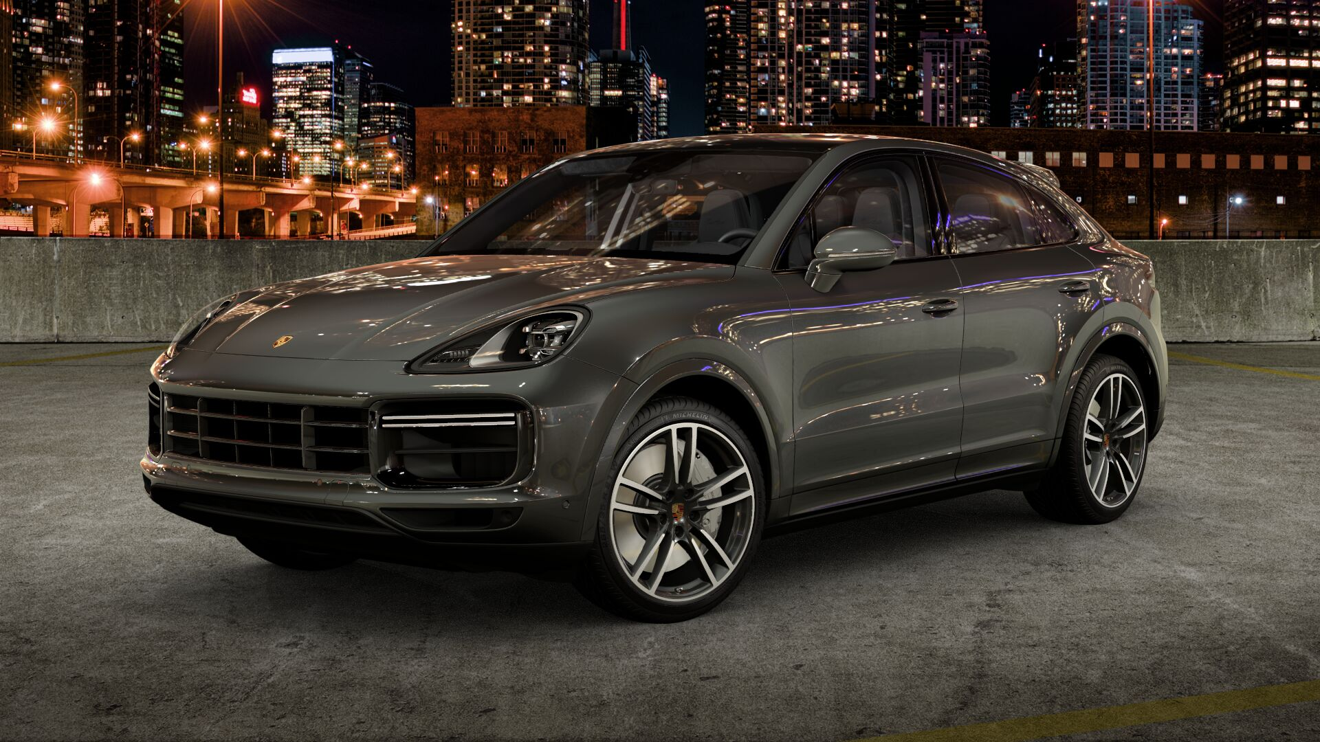 بورش Cayenne Turbo Coupé الجديدة 2020
