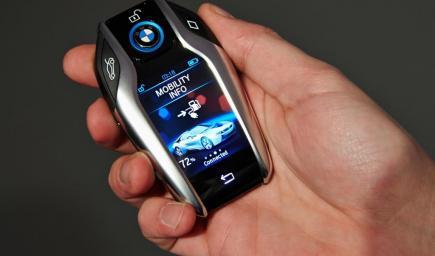 مفتاح BMW الذكي