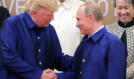 منافسة جديدة بين الرئيسين الروسي فلاديمير بوتين والأمريكي دونالد ترامب