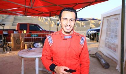 بطل الفريق الصاعد أحمد محمد المالكي
