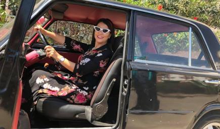 الممثلة سامية أقريو
