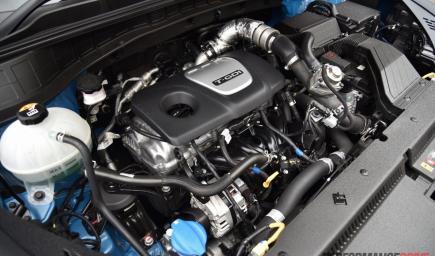 محرك سيارة يعمل بالديزل من شركة هيونداي توكسان