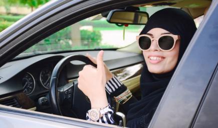 هكذا هنأت شركات السيارات قرار قيادة المرأة السعودية
