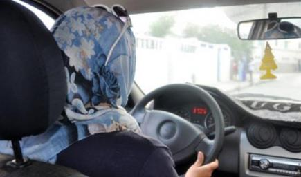 قيادة المرأة السيارة في السعودية