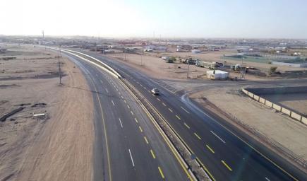 مشروع توسعة وصلة الطريق المؤدية إلى نادي الطائف لسباق الهجن