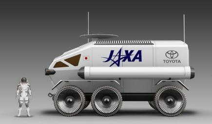 الإنتهاء من تصنيع أول عربة تسير على سطح القمر