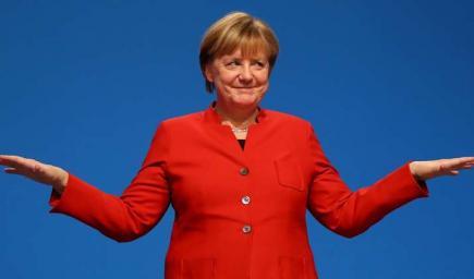 لمستشارة الألمانية، أنجيلا ميركل