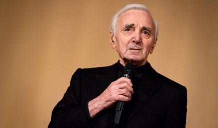 المغني الراحل شارل أزنافور Charles Aznavour