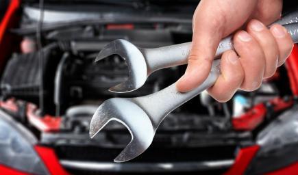 إصلاح السيارة