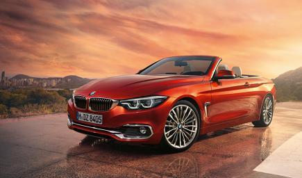 BMW الفئة الرابعة المكشوفة 2017