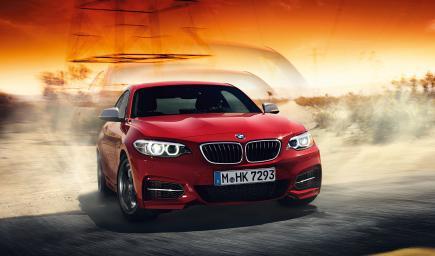 BMW الفئة الثانية كوبيه 2018