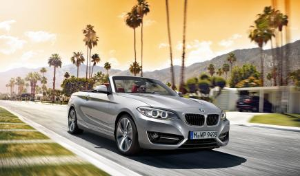 BMW الفئة الثانية المكشوفة 2018