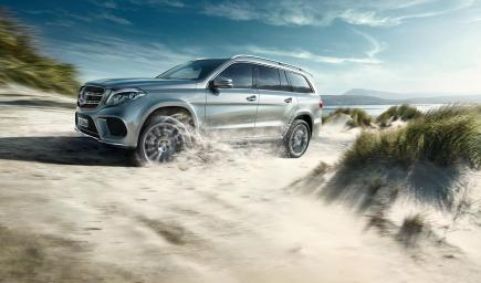 مرسيدس بنز GLS 500 4MATIC 2017