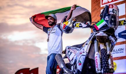 الدرّاج الإماراتي محمد البلوشي