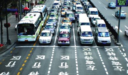 الذكاء الصناعي في طرقات الصين