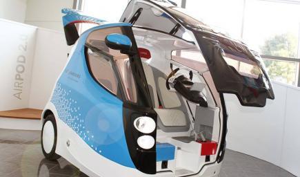 نموذج من سيارة هوائية سيتم تصنيعها