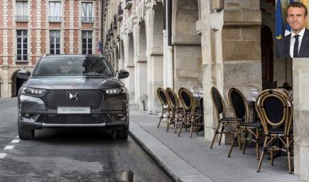 السيارة التي اختارها الرئيس الفرنسي لتنقلاته الرسمية