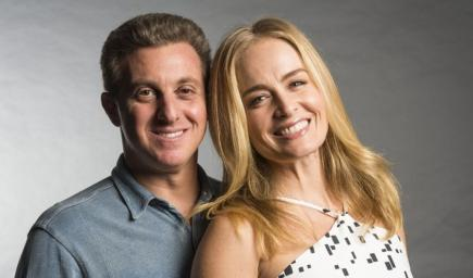لوسيانو هوك وزوجته