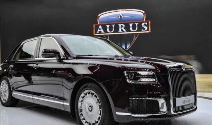انطلاق مبيعات وحجز سيارة أوروس الرئاسية هذا الشهر حول العالم