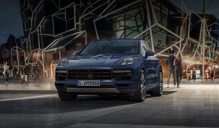 بورش Cayenne Turbo الجديدة 2018