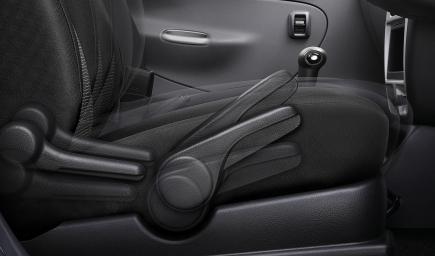 ضبط مقاعد السيارة