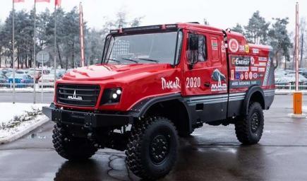 شاحنة MAZ الجديدة