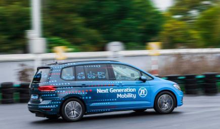 شركة زد إف طورت كاميرات مراقبة وملحقات مقصورة القيادة للحفاظ على تركيز السائق