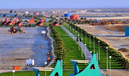 شاطئ العقير في محافظة الأحساء