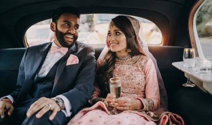 سيارات زفاف المشاهير