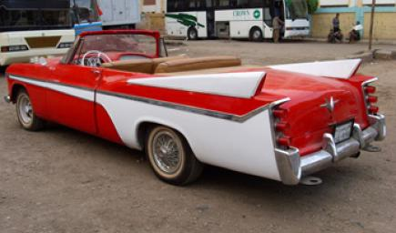 """سيارة عبد الحليم حافظ """"فورد ثندر بيرد1965"""""""