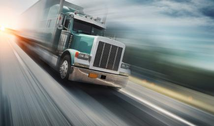 تعلم قيادة الشاحنة