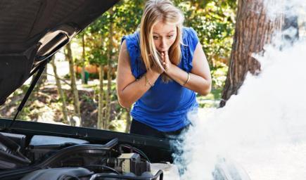 إذا كانت السيارة ساخنة عليكِ فوراً معرفة السبب وراء المشكلة