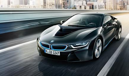 BMW i8 الجديدة 2018