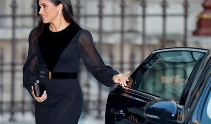 وصفت ميغان بالمتواضعة لإنها تغلق أبواب سياراتها بيدها ولا تدع أحدا يفعل ذلك