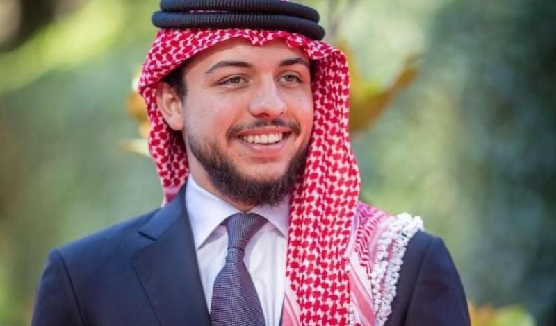 الأمير الأردني الحسين بن عبد الله ولي عهد المملكة الأردنية