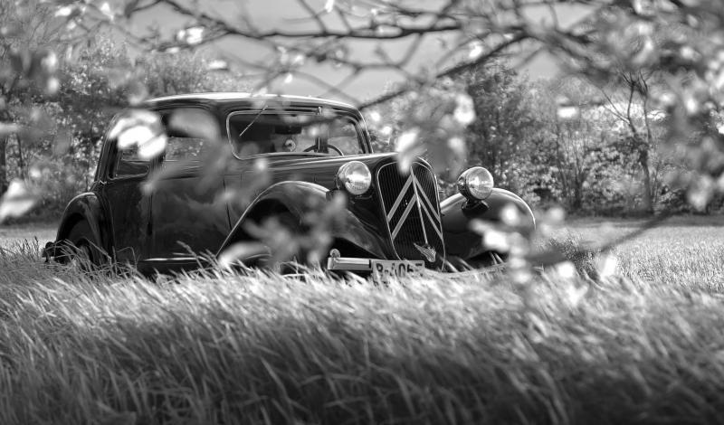 سيارة كلاسيك من سيتروين