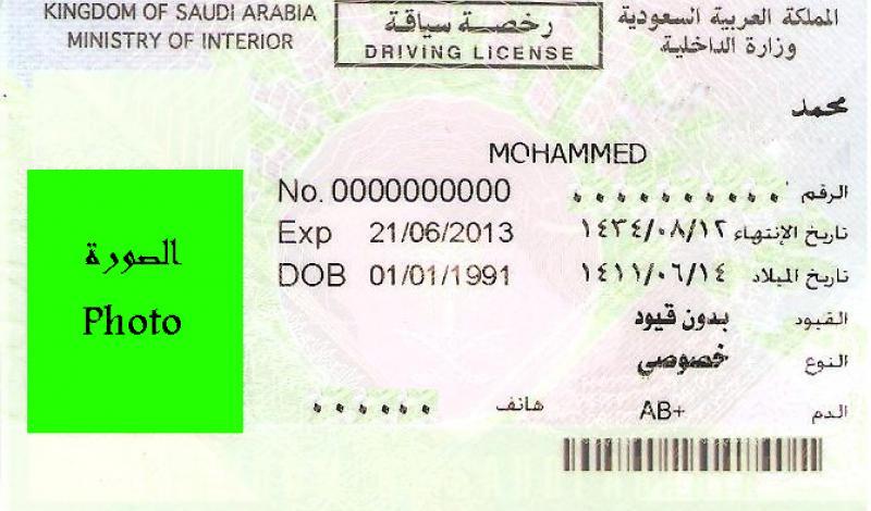أنواع الرخص في السعودية واوراق اللازمة استخراج رخصة القيادة سيارات سيدتي